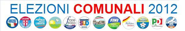 NEW – SPECIALE ELEZIONI COMUNALI 2012