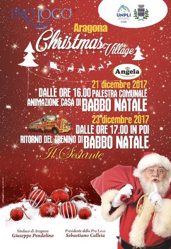 ARAGONA CHRISTMAS VILLAGE