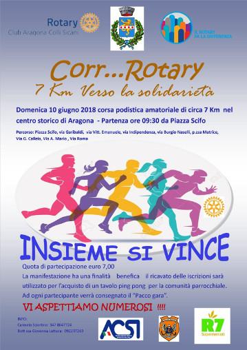 Corr……. Rotary 7 Km verso la solidarietà