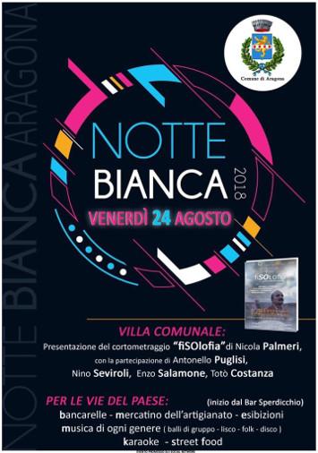 NOTTE BIANCA 2018