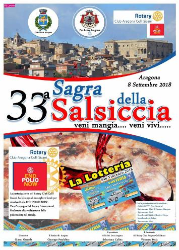 Aspettando San Vincenzo, Sagra della Salsiccia 2018