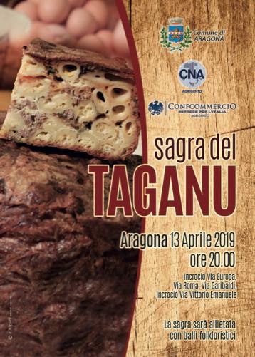 SAGRA DEL TAGANO –  ARAGONA 13 APRILE 2019 ORE 20.00